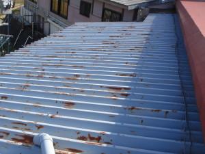 塗 劣化 屋根